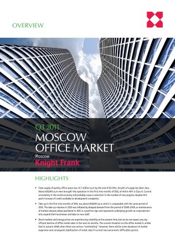 Russian office real estate market - Knight Frank