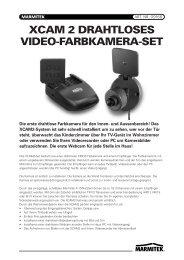 XCAM 2 DRAHTLOSES VIDEO-FARBKAMERA-SET