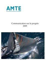 Auge principes 8 et 9 coP 2009 - Le Pacte Mondial