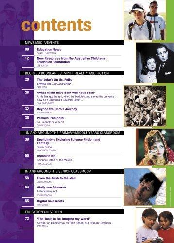 view contents - Metro Magazine