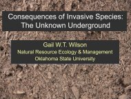 Consequences of Invasive Species: The Unknown Underground