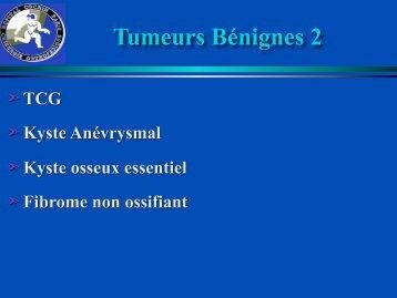 Tumeurs Bénignes 2 - ClubOrtho.fr