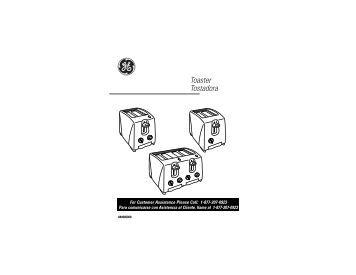 Toaster Tostadora - GE :: Housewares