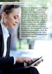 Ein Traum für Anwender mit Albtraum- potenzial ... - TDS AG - Fujitsu