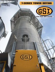 T-Series Tower Dryers - GRAIN SYSTEMS INC.