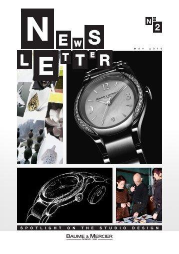 Download the newsletter - Baume et Mercier