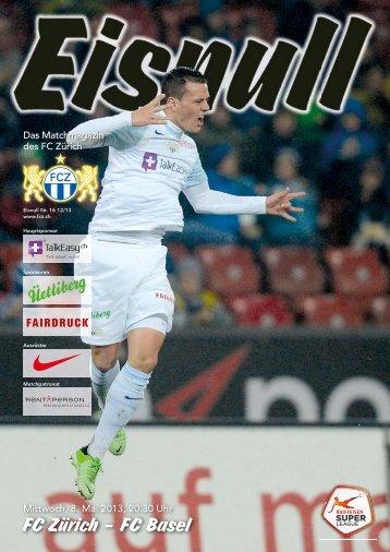 Nr. 16 12/13 (Basel) - FC Zürich