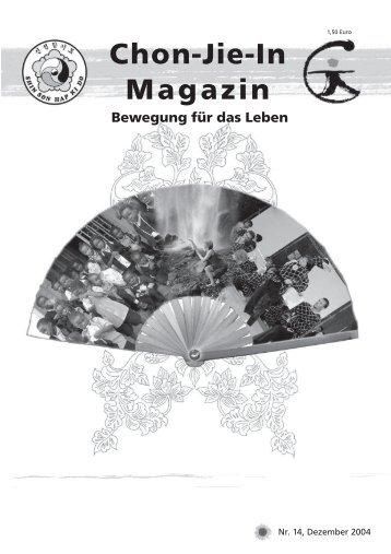 Chon-Jie-In Magazin - Shinson Hapkido