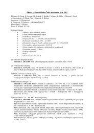 Zápis z 12. jednání Rady České televize dne 16. 4. 2003 Přítomni: B ...