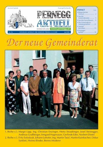 Pernegg Zeitung März - Gemeinde Pernegg