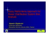 Fuzzy Multicriteria Approach for Power Distribution System Risk ...