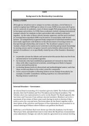 Gerneral-Membership - The European Academy of Nursing Science