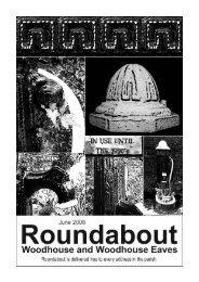 Roundabout Jun 08 - Woodhouse Parish Council