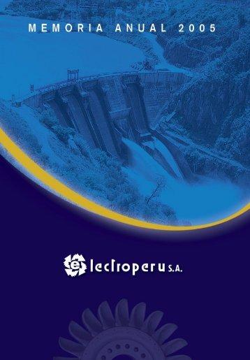 Memoria ElectroPeru.indd - Electroperú