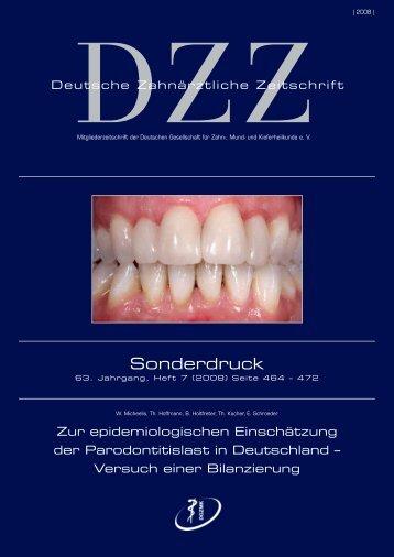 Sonderdruck - IDZ