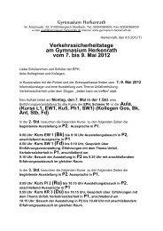 Verkehrssicherheitstage am Gymnasium Herkenrath vom 7. bis 9 ...