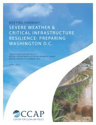 Severe Weather & Critical Infrastructure Resilience - Climate ...