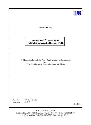ImmuChem Coated Tube Follikelstimulierendes Hormon (FSH)