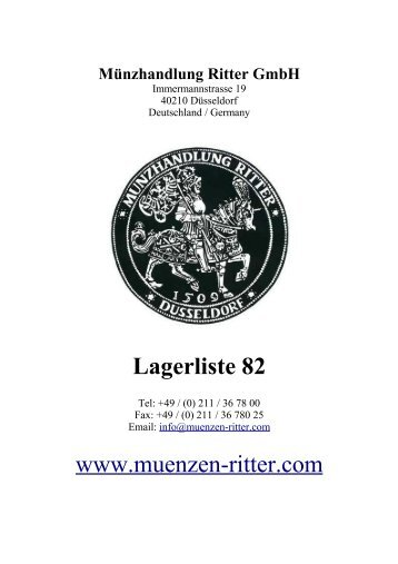 3.2 ausland - Münzhandlung Ritter GmbH