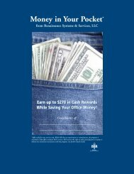Money in Your Pocket* - Renaissance Systems & Services
