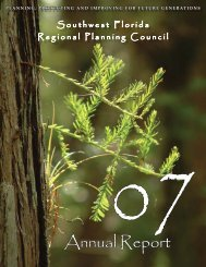 2007 Annual Report - Southwest Florida Regional Planning Council