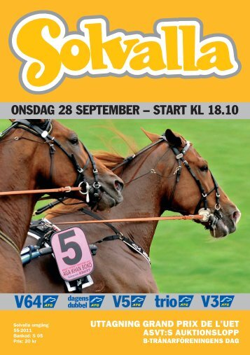 28september - Solvalla