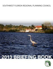 2013 BRIEFING BOOK - Southwest Florida Regional Planning Council