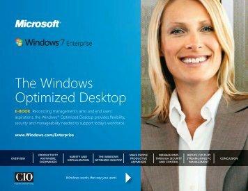 Windows 7 E-Book Optimized Desktop - Gig Werks