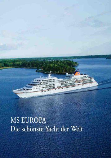 Schönste yacht der welt  MS EUROPA Die schönste Yacht der Welt - Die Perfekte Kreuzfahrt