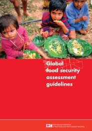 Global food security assessment guidelines - The Center for ...