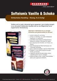 Softeismix Vanille & Schoko - Geyer Food Konzept, Fresh-Food-Shop