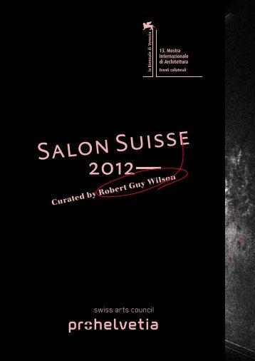 Programme Salon Suisse 2012 - biennials.ch