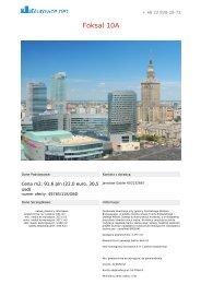 Biuro do wynajia Warszawa Centrum Foksal 10A - Biurowce.net