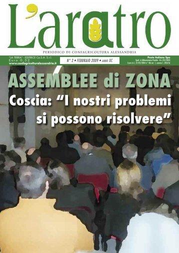 ASSEMBLEE di ZONA - Confagricoltura Alessandria