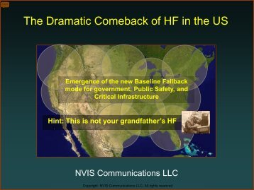 The Dramatic Comeback of HF in the US