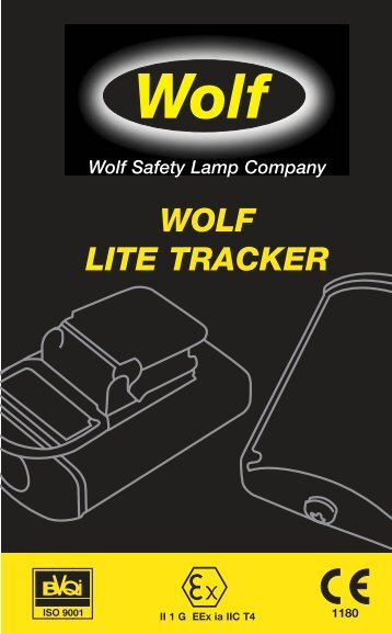 9443 Litetracker Multiling Leaflet - Wolf Safety Lamp Company