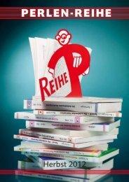 Vorschau Deutschland Herbst 2012 - Perlen-Reihe