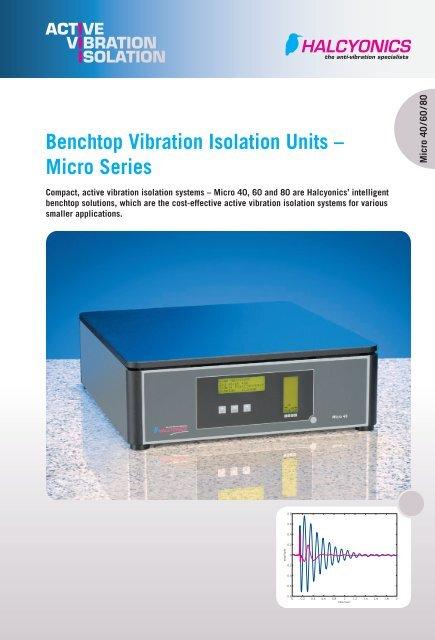 Halcyon Dynamic Anti-Vibration Table