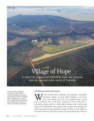 Village of Hope - Fundación Centro Experimental Las Gaviotas