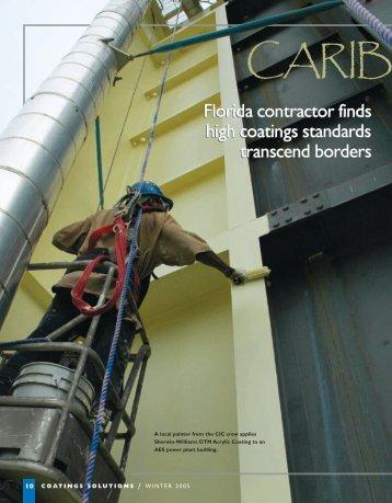 Carribean Calling - Protective Coatings, Protective & Marine Coating ...