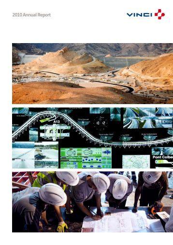 VINCI - 2010 annual report