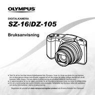 Bruksanvisning SZ-16/DZ-105 - Olympus - Europe