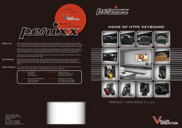 HOME OF HTPC KEYBOARD - Perixx Computer GmbH