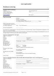 Aanvraagformulier Bestelautoverzekering - SLIMcms