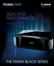 the pixma black series - Canon in South and Southeast Asia