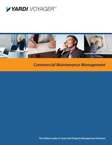 Commercial Maintenance Management - Yardi
