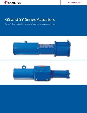 GS and SY Series Actuators - Apex Distribution Inc.
