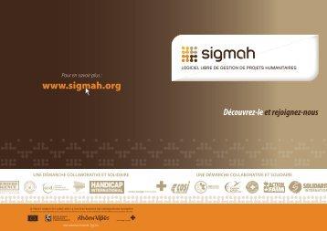 Dépliant Sigmah - Groupe URD
