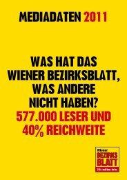 577.000 leser und 40% reichweite mediadaten 2011 - Wiener ...