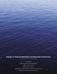 Dialogue on Financing Wastewater and Stormwater Infrastructure